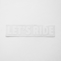 Наклейки KSS Let`s Ride White
