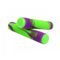 Грипсы Root Industries Mixed Green/Purple